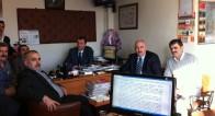 Türkiye Lokantacılar Federasyonu Odamızı ziyaret etti