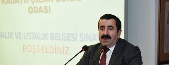 İstanbul Yufkacılar ve Kadayıfçılar Esnaf Odamız kalfalık ve ustalık belgesi sınavı düzenledi.
